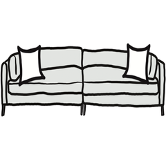 decorative throw pillow size guide for minimalist deep sofa