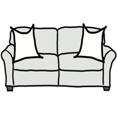 decorative throw pillow size guide for minimalist standard sofa