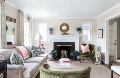 Elephant accessories in living room found on Houzz