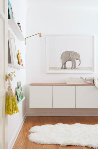 Baby Elephant Decor Nursery