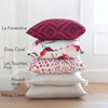 Les Touches Pink Pillow Cover