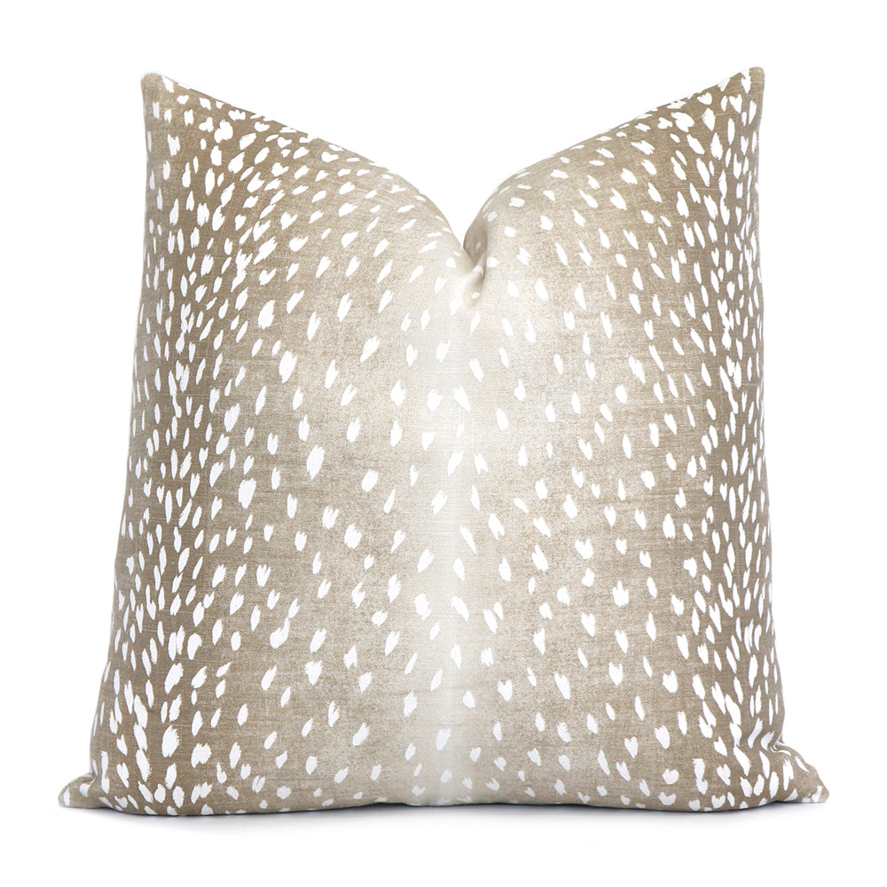 Antelope Beige Pillow Cover