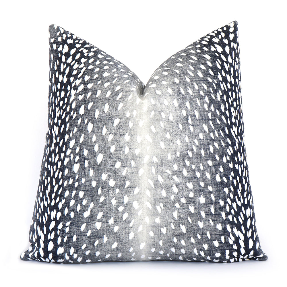 Antelope Navy Pillow Cover