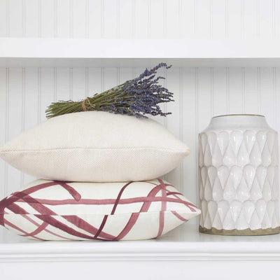 Channels Plum Pillow Cover Lifestyle 1
