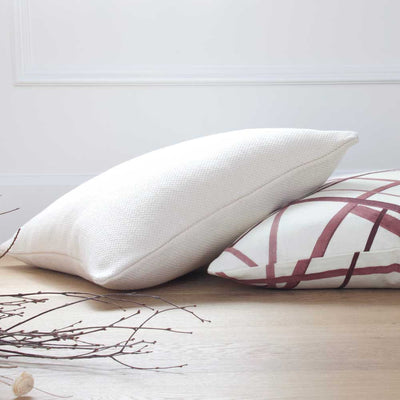 Channels Plum Pillow Cover Lifestyle 2