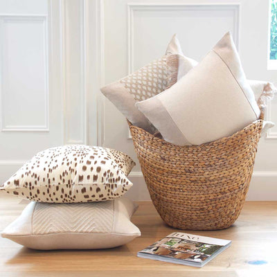 Les Touches Tan Pillow Cover Lifestyle 3