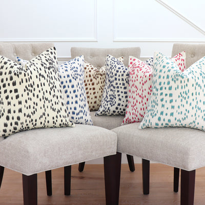 Les Touches All Colors Pillow Cover