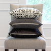 Brunschwig & Fils Les Touches Black Designer Throw Pillow Cover with Matching Pillows