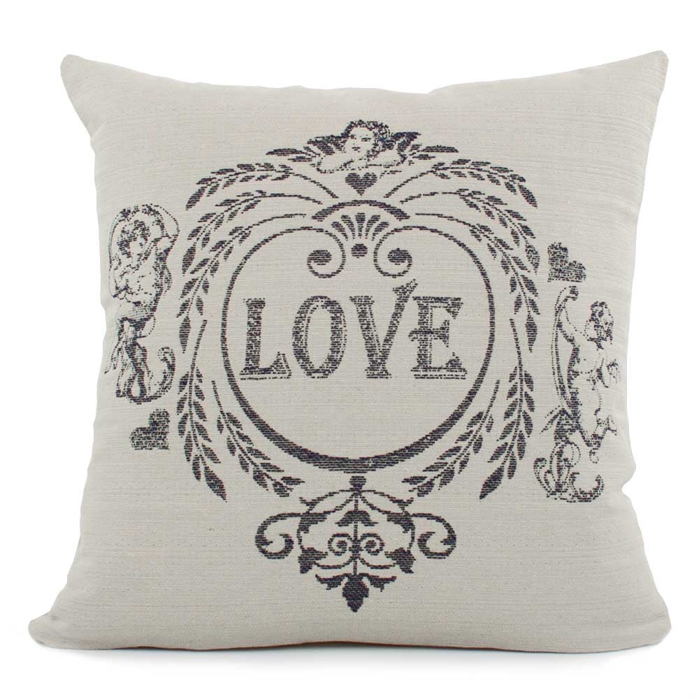Front View Love Potion Throw Pillow