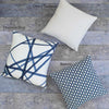 Channels Periwinkle Pillow Cover