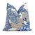 Thibaut Honshu Blue and Beige Decorative Designer Pillow Cover
