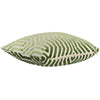 Vanderbilt Lettuce Velvet Pillow Cover Side View