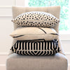 Schumacher Vanderbilt Noir Velvet Designer Throw Pillow Cover with Matching Pillows