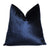 Velluto Blue Velvet Pillow Cover