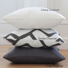Zimba Charcoal Pillow Cover with Matching Gray Pillow Covers