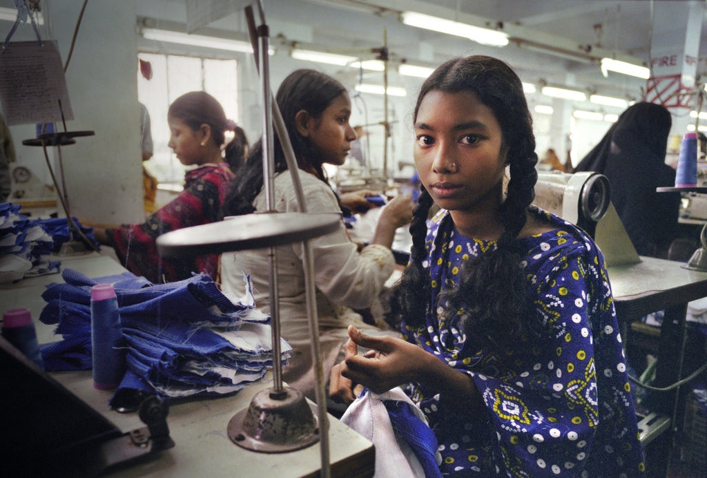 Why you should care about who made your clothing.
