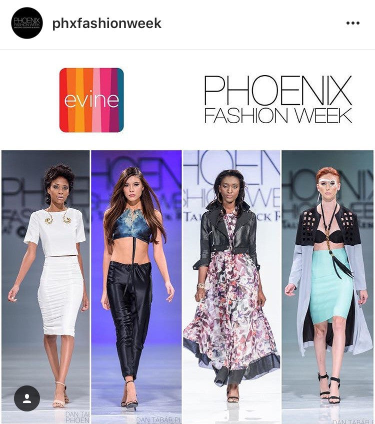 Phoenix Fashion Week and EVINE.