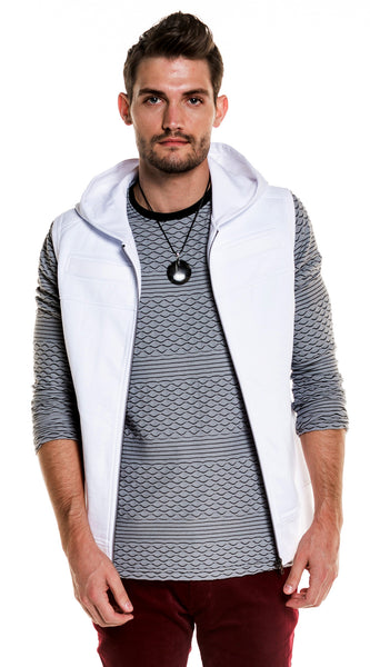 Clarke Hooded Fleece Vest