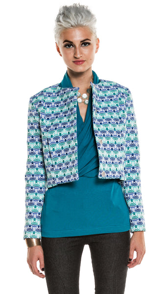 Seafish Patterned Jacket