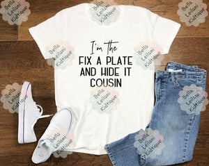 Fix a Plate Cousin
