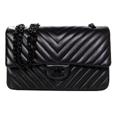 Bolsa Chanel 2.55 Chevron Black - Loja Must Have