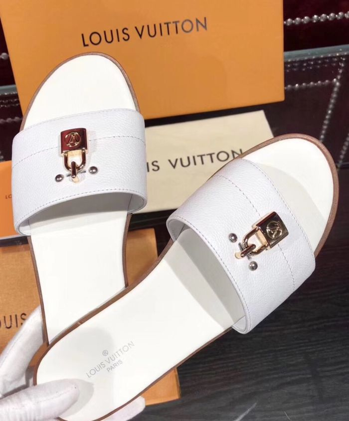 Mule Rasteira Lock It Lisa Louis Vuitton