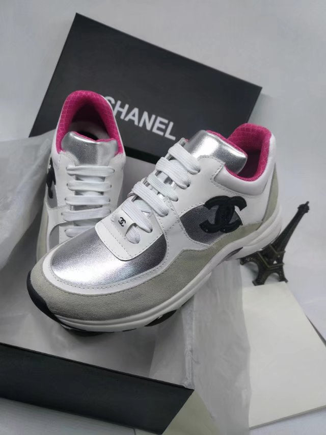 Tênis Sneaker Calfskin & Fabric Chanel - Loja Must Have
