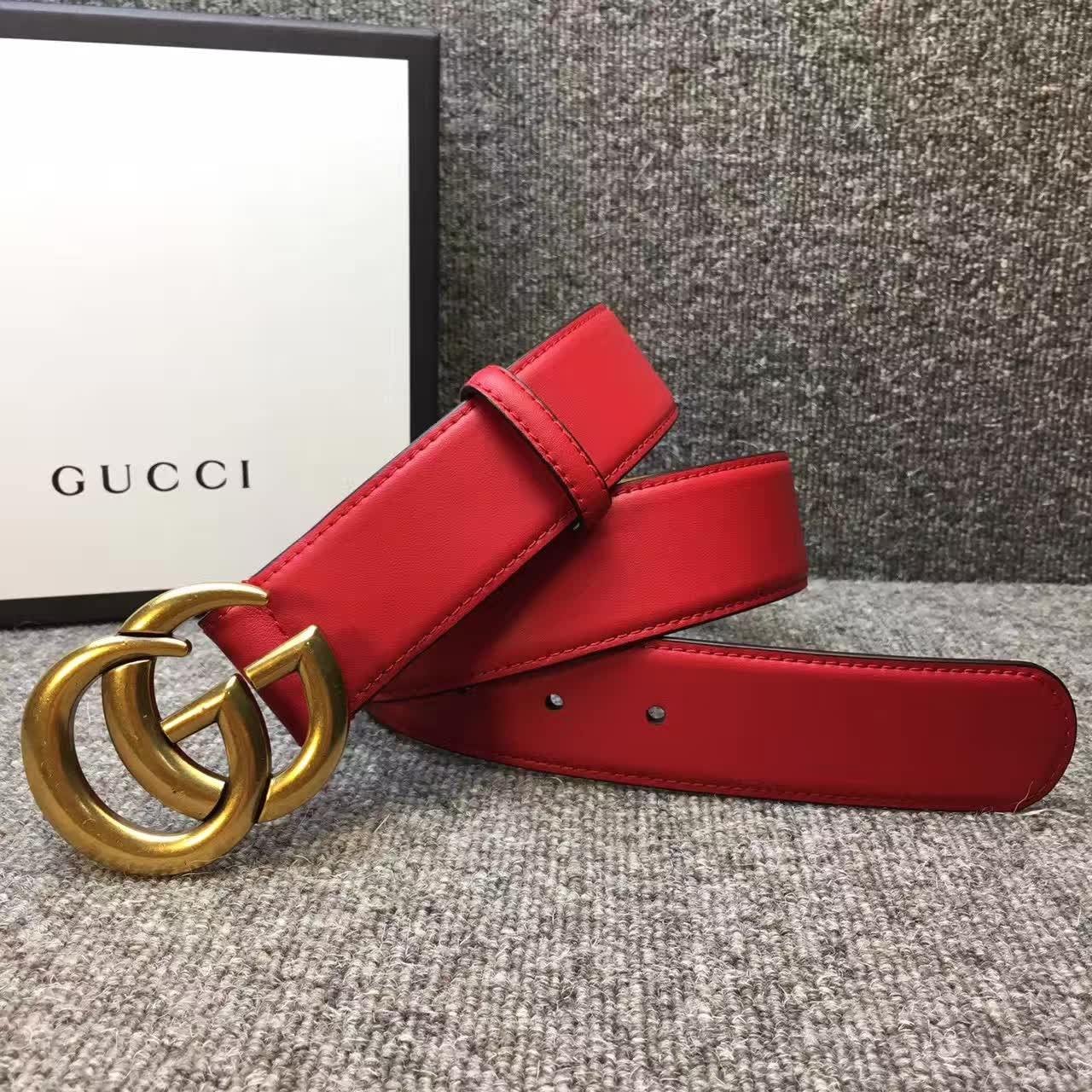 Cinto Gucci Fivela Double G - Loja Must Have