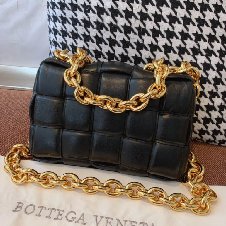 Bolsa Bottega Venetta The Chain Cassette
