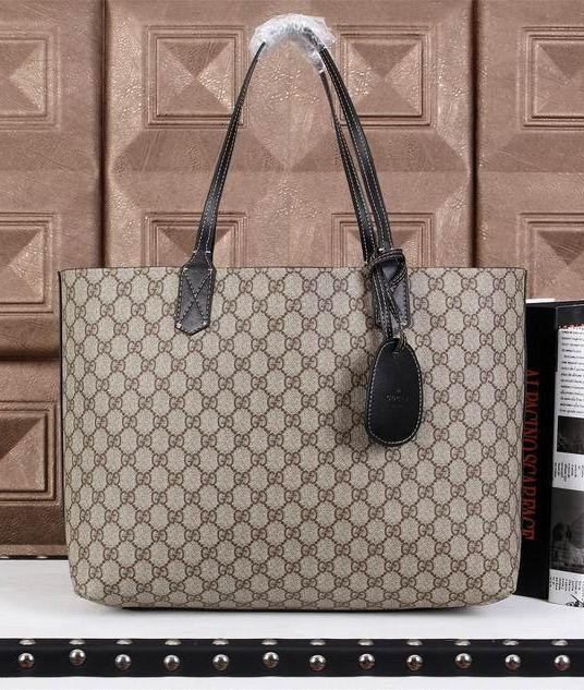 Bolsa Reversible Leather Tote 368568 Gucci - Loja Must Have