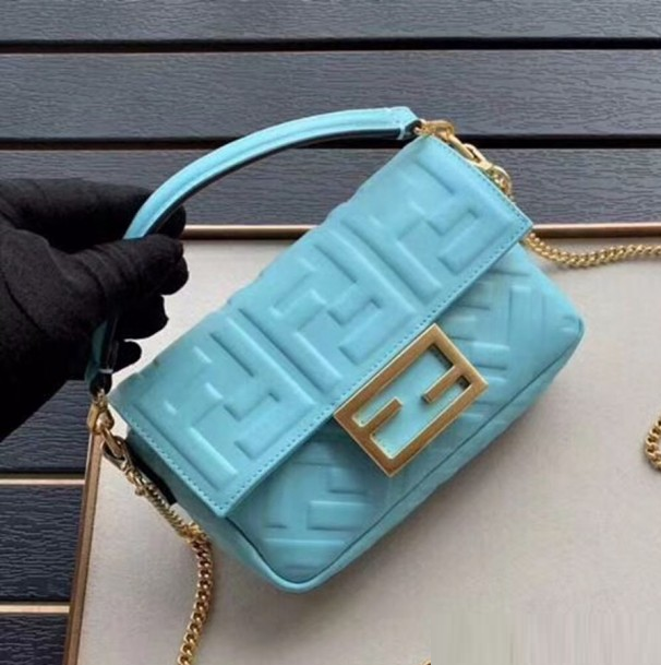 Bolsa Fendi FF Motif Baguette Bag - Loja Must Have