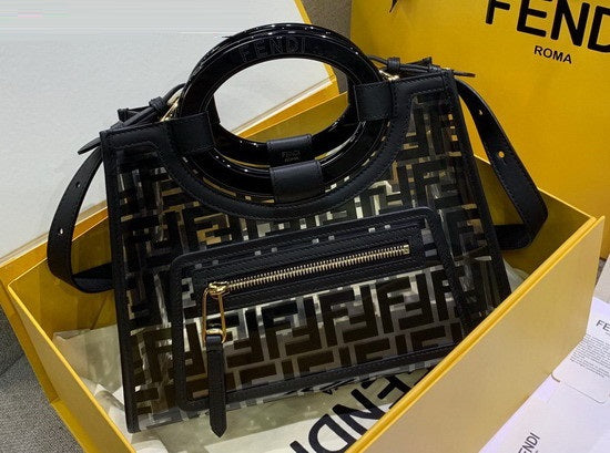 Bolsa Runway Fendi Glass Shopper pequena - Loja Must Have