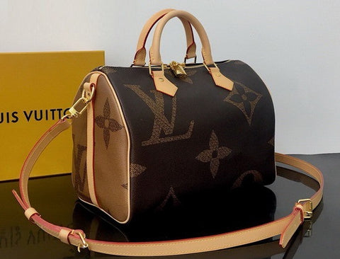 Bolsa Speedy Bandouliere 30 Monogram Giant Louis Vuitton