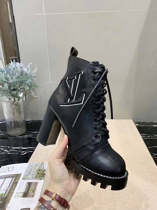 Bota Ankle Boot Star Trail Logo Louis Vuitton - Loja Must Have