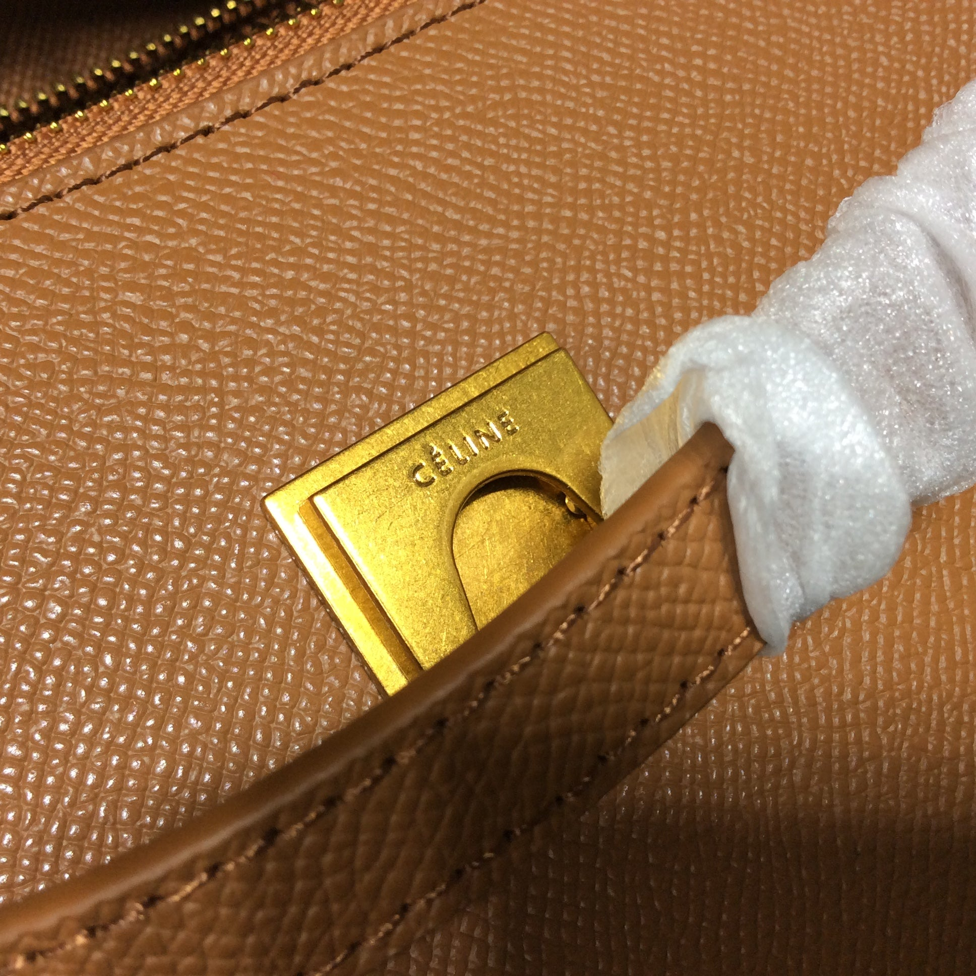 Bolsa Celine Belt Grained Calfskin - Loja Must Have