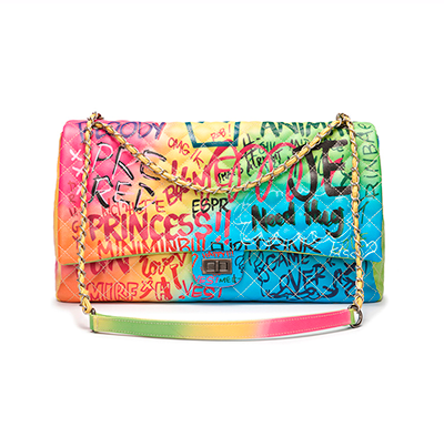 Bolsa Graffiti Chanel Inspired - Loja Must Have