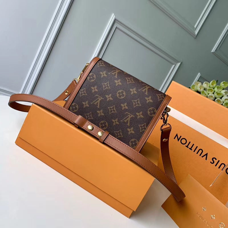 Bolsa Louis Vuitton Monogram Reverse Canvas Mini Dauphine