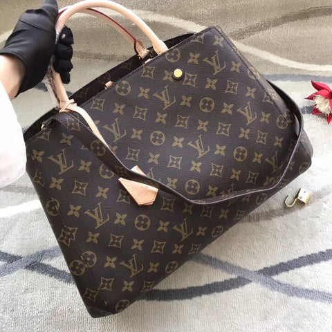 Bolsa Montaigne Monogram MM, GM Louis Vuitton