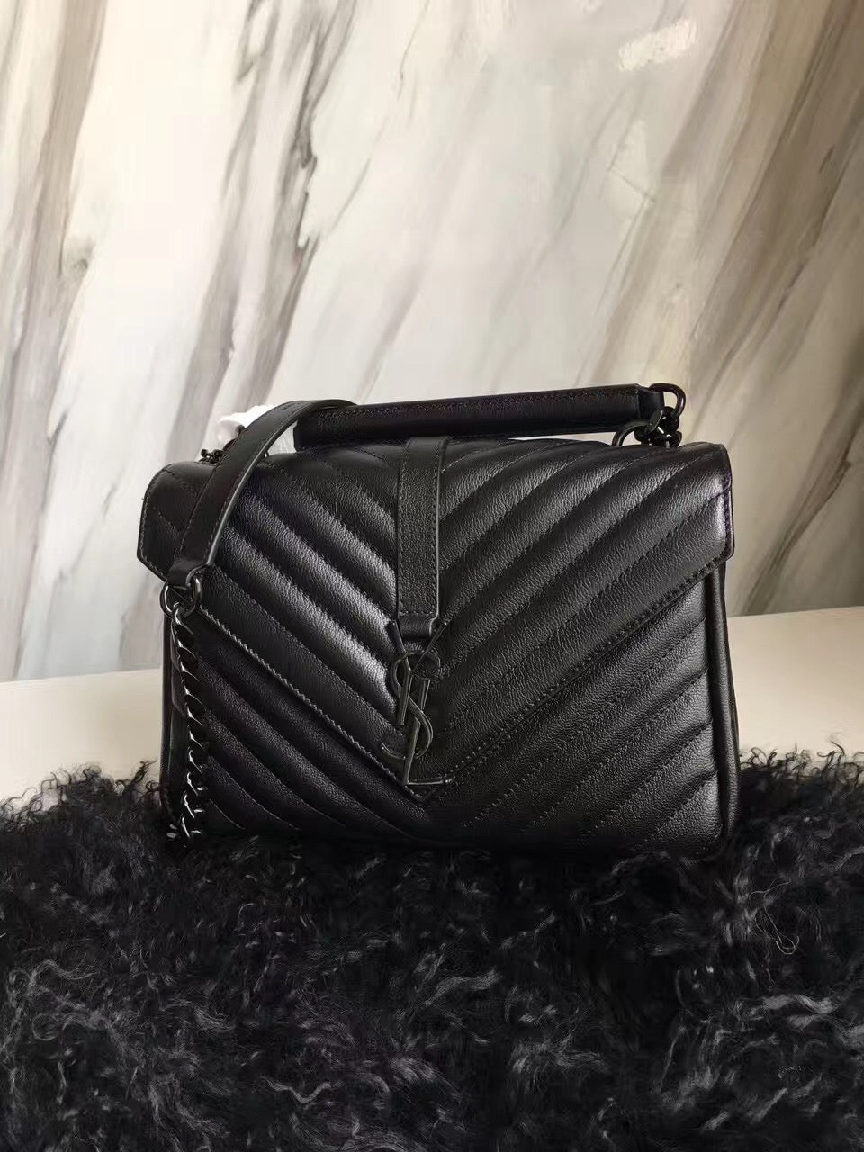 Bolsa tiracolo Collège YSL Saint Laurent - Loja Must Have