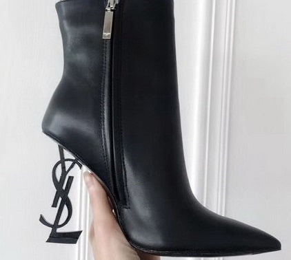 Bota ankle boot YSL Opyum 85 Saint Laurent - Loja Must Have