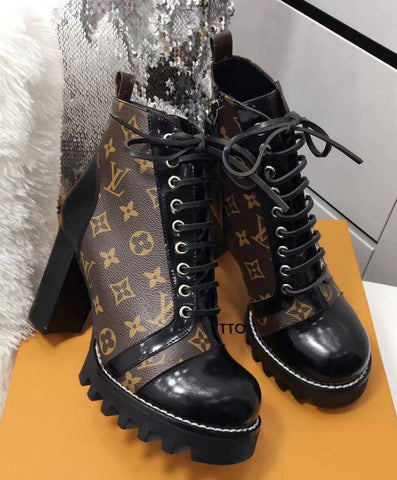 Bota Ankle Boot Star Trail Louis Vuitton