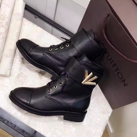Bota Wonderland Black Louis Vuitton