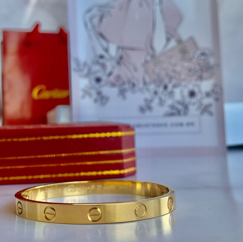 Bracelete Love Cartier