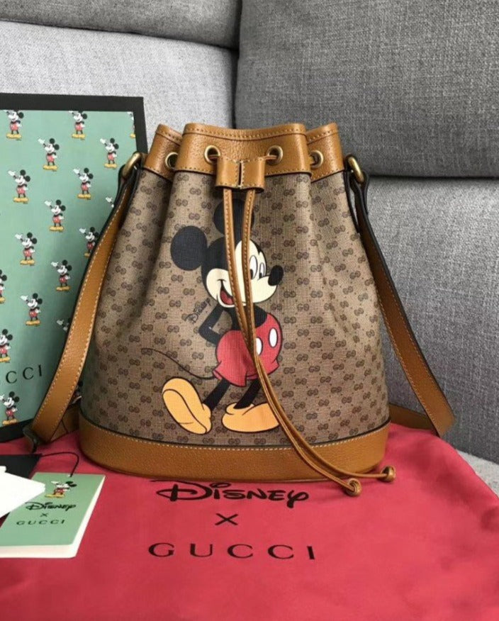 Bolsa Gucci Disney Mickey Bucket bag - Loja Must Have