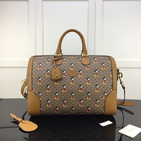 Bolsa Gucci Disney Mickey carry-on duffle