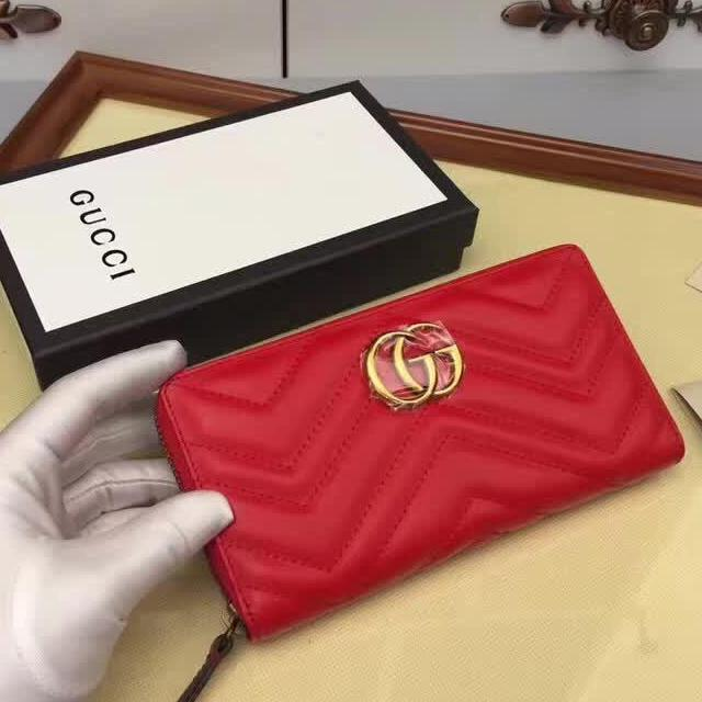 Carteira Gucci GG Marmont Zipper - Loja Must Have