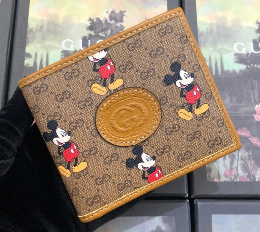 Carteira Gucci Disney Mickey pequena - Loja Must Have