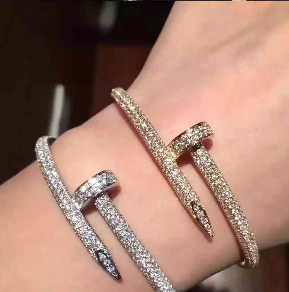Bracelete Juste Un Clou Diamonds Cartier - Loja Must Have