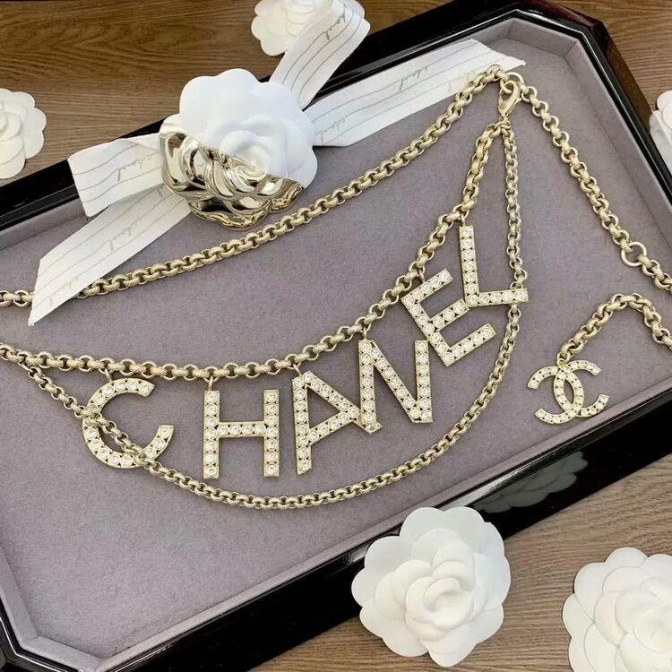 Cinto Chanel Strass SS2019 - Loja Must Have