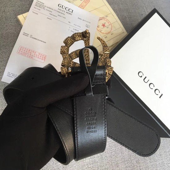 Cinto Gucci Double G Fivela Cristal - Loja Must Have